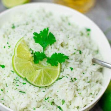 30 Minute Cilantro Rice