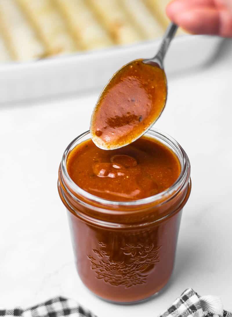 Quick Homemade Enchilada Sauce