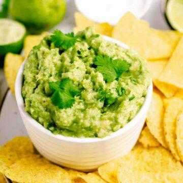 3 ingredient mexican guacamole recipe