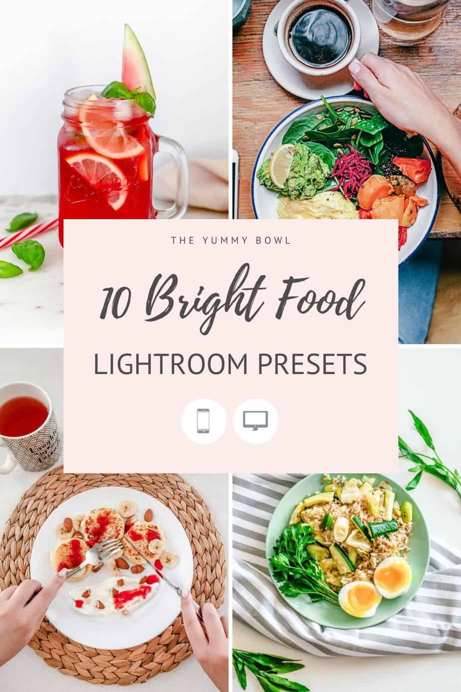 Create stunning bright and light food photographs with these 10 Bright Lightroom Presets. Edit with style. Improve your content.Grow your brand.