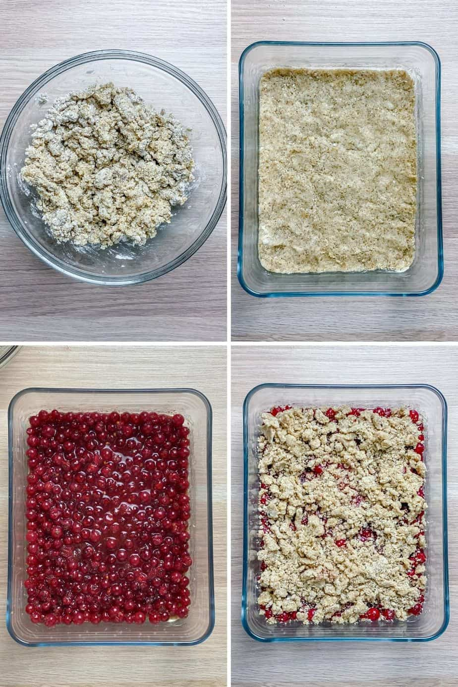 These Red Currant Crumble Bars are gluten free, super easy summer berry recipe that you can whip up in only few minutes. Serve them for dessert, breakfast or enjoy as a delicious snack during the day. - The Yummy Bowl
