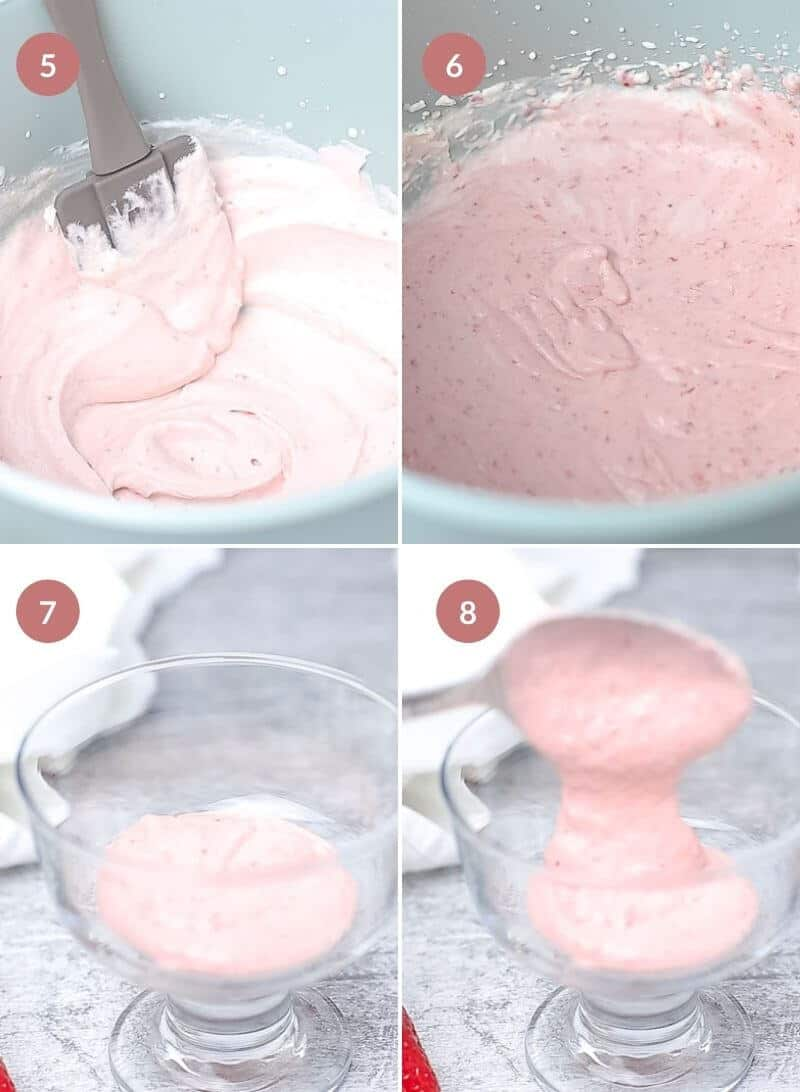 Quick Strawberry Mousse
