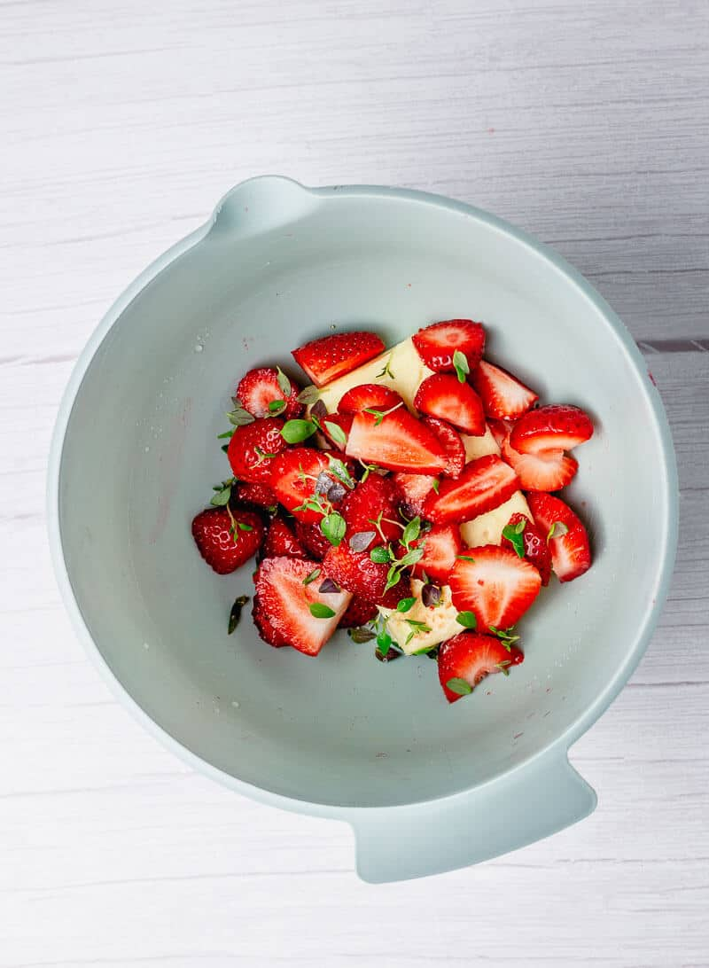 strawberry butter process
