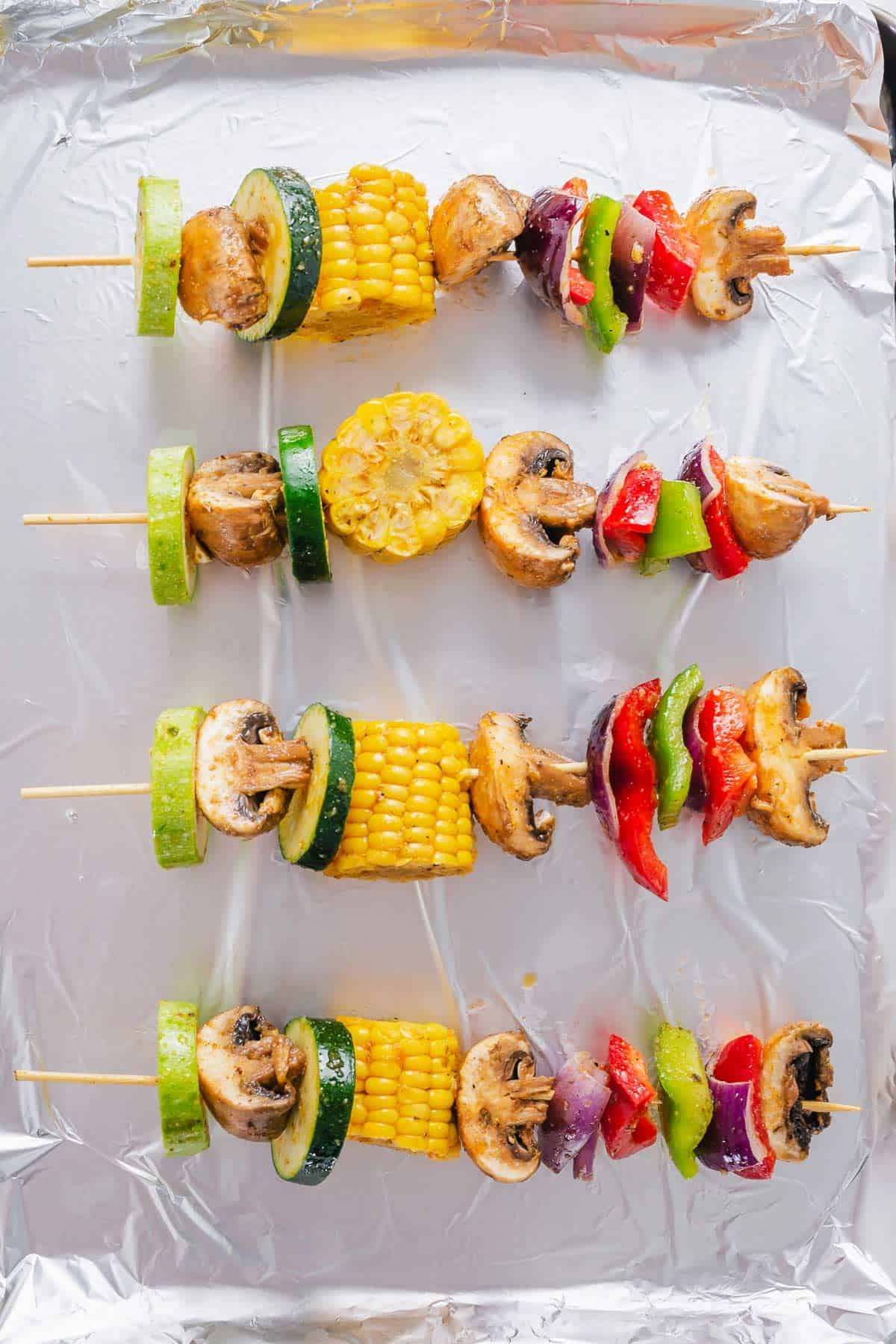Veggie Kabobs In The Oven