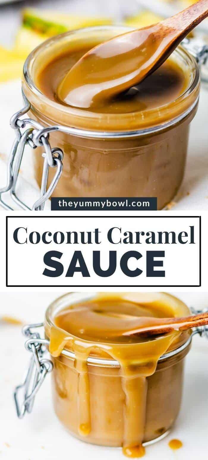 Coconut Caramel Sauce
