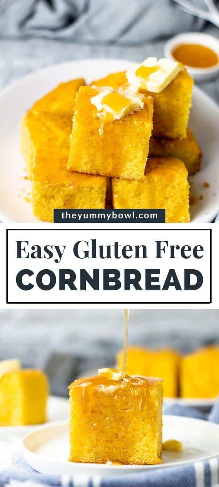 Easy Cornbread Gluten Free