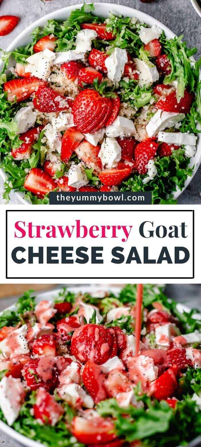Strawberry Goat Cheese Salad