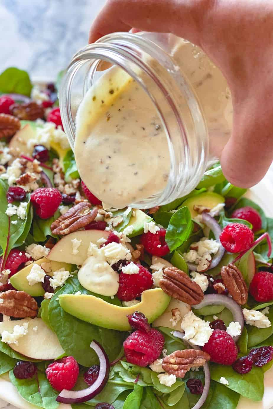 The taste of this creamy Greek Yogurt Herb Dressing is so luxurious that you'll love adding it to many other recipes as it instantly brightens any dish.-The Yummy Bowl
