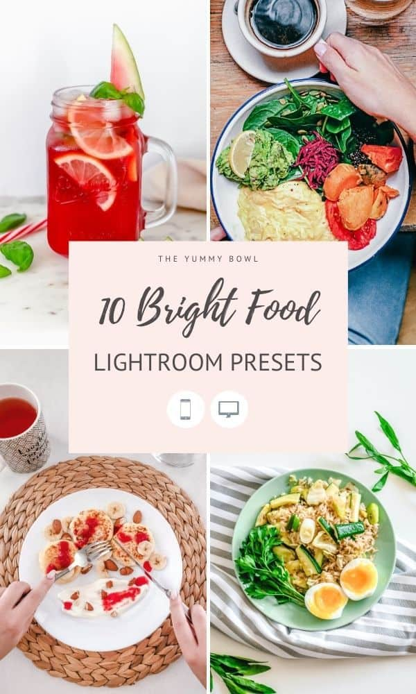 Create stunning bright and light food photographs with these 10 Bright Lightroom Presets. Edit with style. Improve your content. Grow your brand.