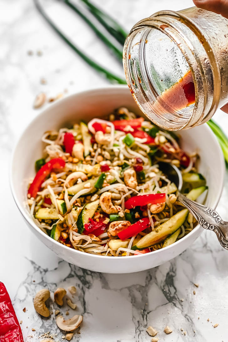 Healthy Bean Sprout Salad