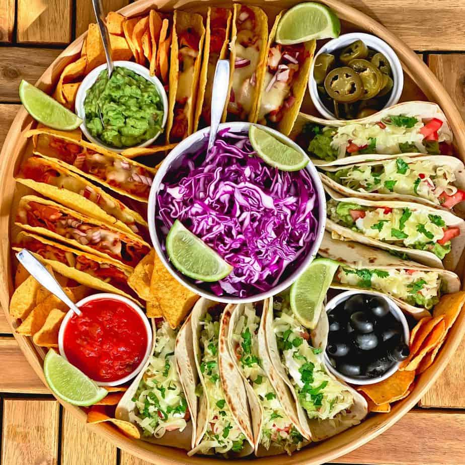 Easy Taco Dinner Party Board
