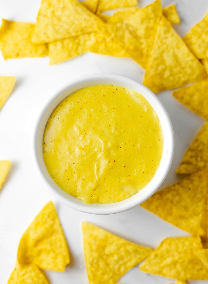 Vegan Homemade Nacho Cheese
