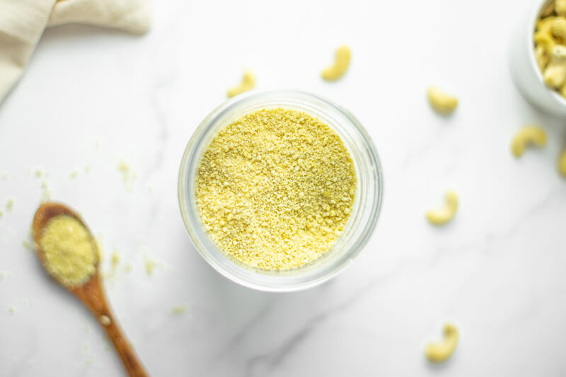 Easy Vegan Parmesan Cheese