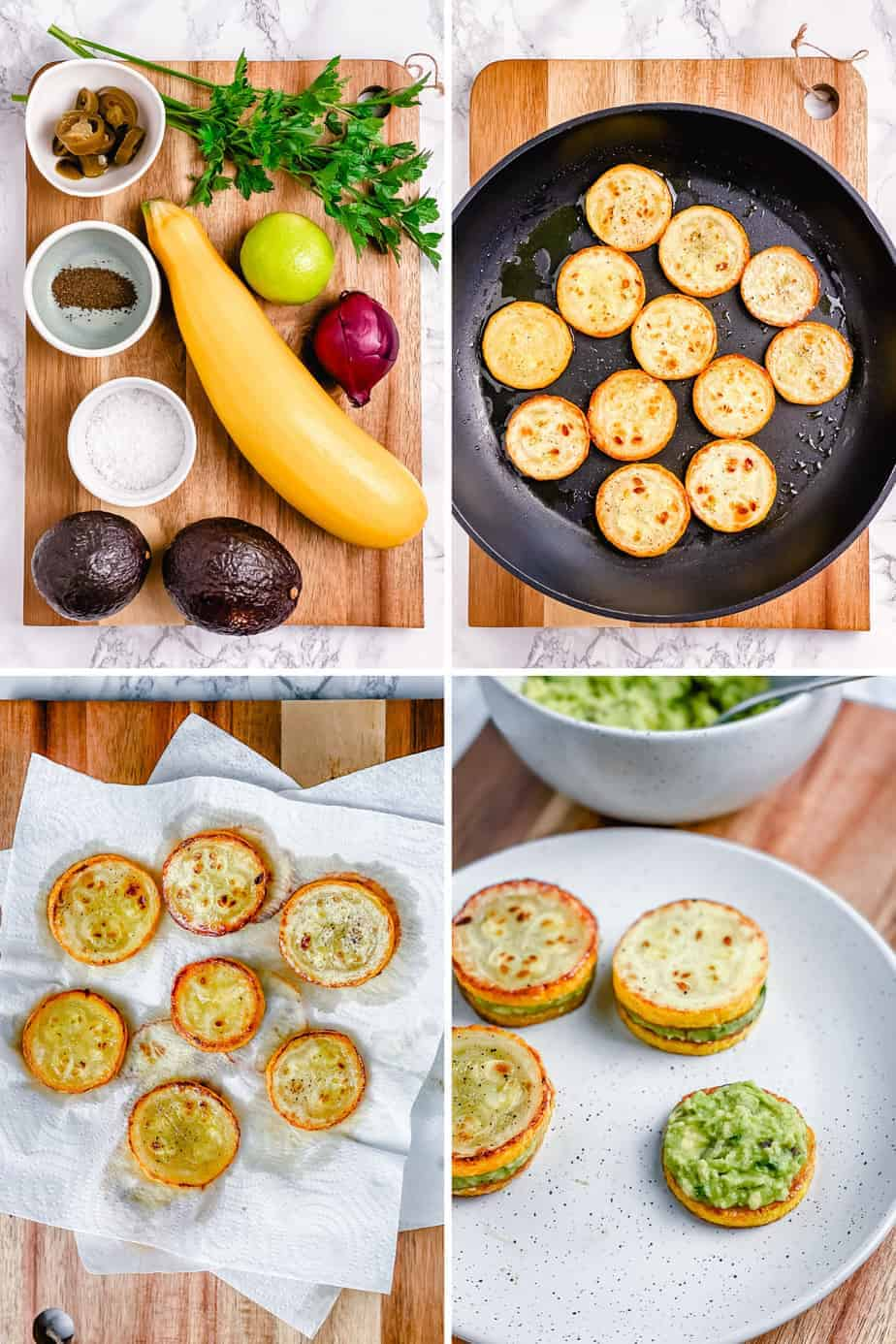 Have you tried zucchini sliders? They are easy to make, 100% vegan, come in mini bite-size pieces, and loaded with only the good and healthy stuff - zucchinis and my favorite guacamole recipe!  #minizucchinisliders #zucchinisldiersrecipe #veganzucchinisliders #squashsliders #zucchiniburgers #minizucchiniburger #veganzucchiniburger #zucchini #goldensquash #yellowzucchini #squashsliders #squashburger - The Yummy Bowl